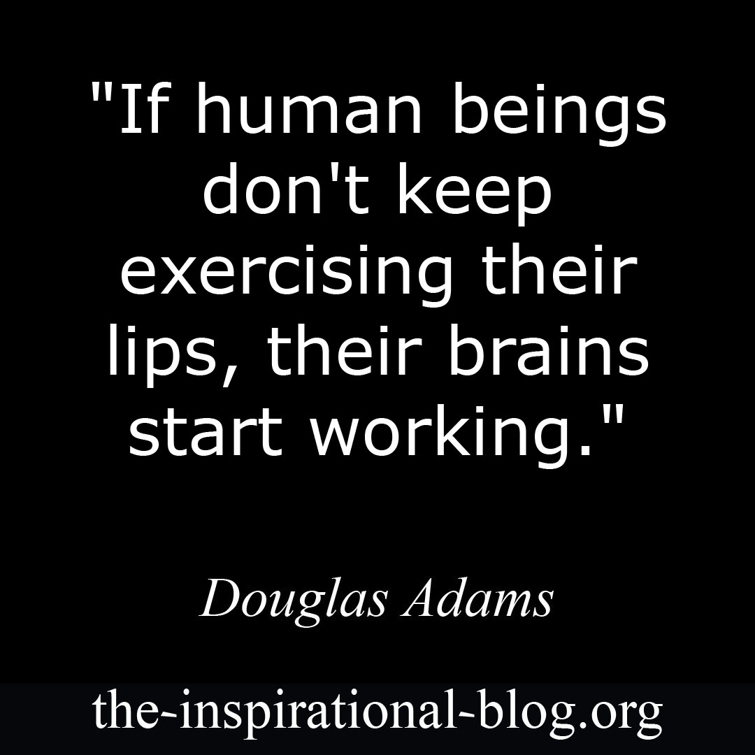 Inspirational Douglas Adams quotes