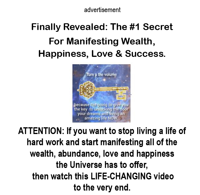 The #1 Secret For Manifesting Wealth, Happiness, Love & Success