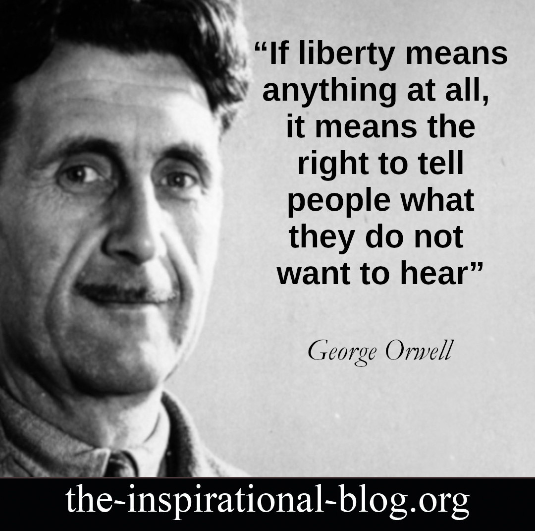 Inspirational George Orwell quotes