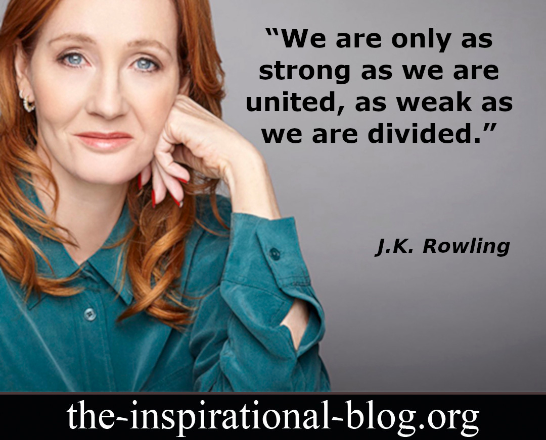 Inspirational J.K. Rowling quotes