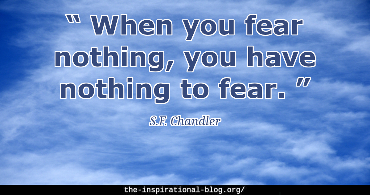 S.F. Chandler quotes